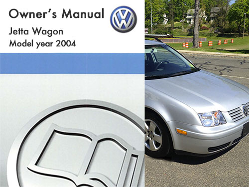2004 Volkswagen Jetta Wagon Owners Manual in PDF