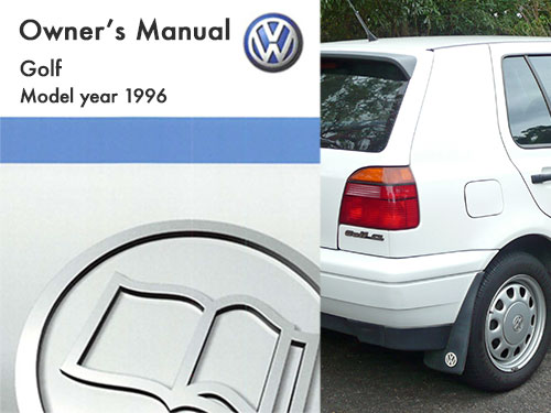 vw golf owners manual pdf