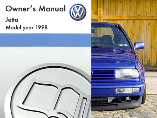1998 volkswagen jetta owners manual in pdf rh dubmanuals com Golf MK5 Golf Mk1