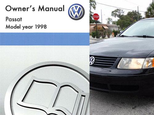 1998 volkswagen passat owners manual in pdf rh dubmanuals com Volkswagen Phaeton Volkswagen Jetta
