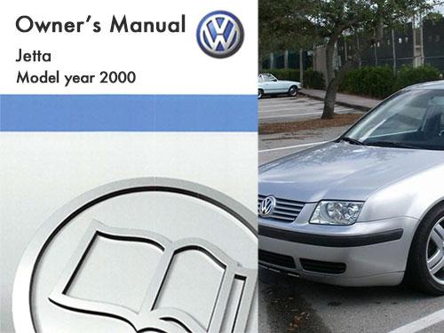 2000 Volkswagen Jetta Owners Manual