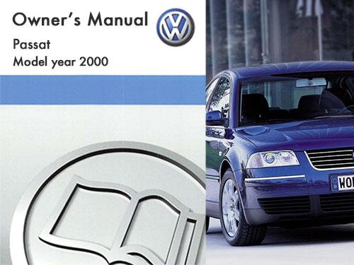 2000 volkswagen passat owners manual in pdf rh dubmanuals com 2000 vw passat owners manual pdf 2002 Passat