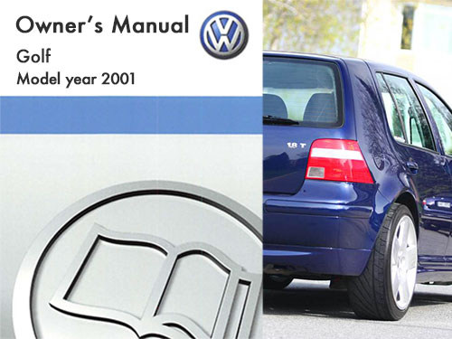 2001 volkswagen golf owners manual in pdf rh dubmanuals com 2000 VW Golf 2005 VW Golf