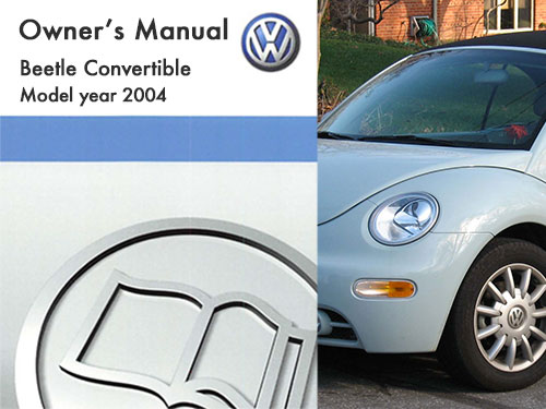 2004 volkswagen beetle convertible owners manual in pdf