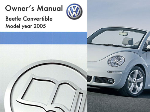 2005 Volkswagen Beetle Convertible Owners Manual In Pdf
