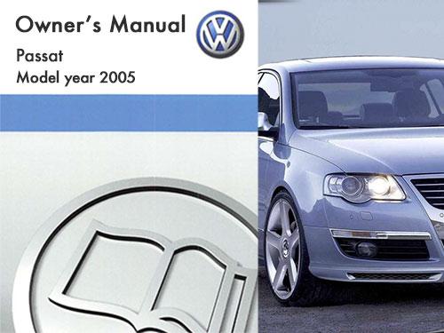 2005 Volkswagen Passat Owners Manual In Pdf