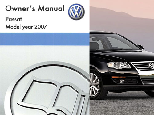 2007 volkswagen passat owners manual in pdf rh dubmanuals com manual passat b6 2007 manual del passat 2007