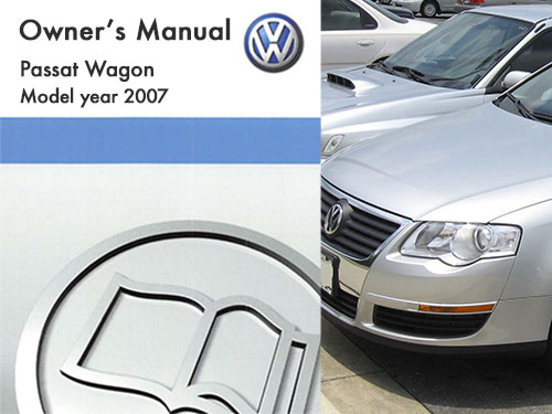 2007 volkswagen passat wagon owners manual in pdf rh dubmanuals com manual passat 2007 manual passat b6 2007