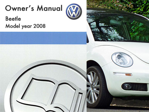 2008 volkswagen beetle owners manual in pdf rh dubmanuals com 2007 VW Beetle 2008 vw beetle owners manual pdf