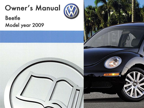 volkswagen beetle owners manual