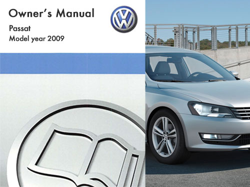 2009 volkswagen passat owners manual in pdf rh dubmanuals com vw passat owners manual 2009 2009 vw passat owners manual pdf free