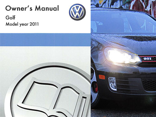 2011 volkswagen golf owners manual in pdf rh dubmanuals com 2018 Volkswagen Golf Manual Transmission Volkswagen Golf Manual Transmission