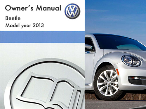2013 volkswagen beetle owners manual in pdf rh dubmanuals com 2013 vw golf owners manual 2015 vw owners manual