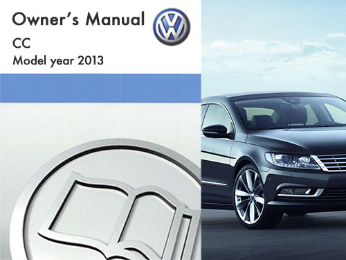 2013 volkswagen cc owners manual in pdf rh dubmanuals com 2013 volkswagen cc service manual 2016 Volkswagen CC