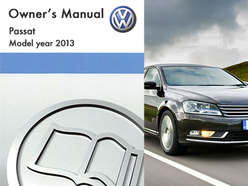 2013 volkswagen passat owners manual in pdf rh dubmanuals com 2013 Volkswagen Passat SE 2013 Volkswagen Passat Interior