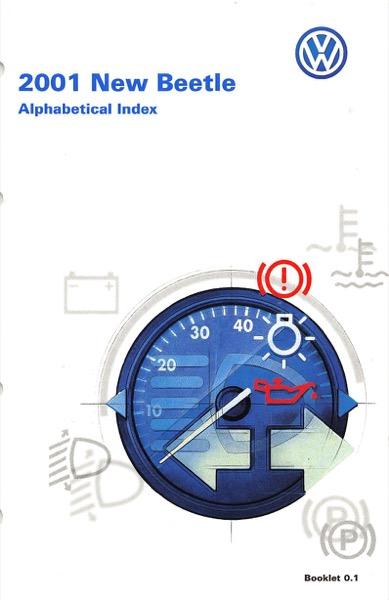 2001 volkswagen beetle owners manual in pdf rh dubmanuals com 2001 volkswagen beetle owners manual 2001 Volkswagen Beetle Repair Manual