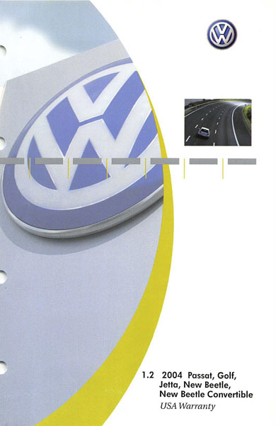 2004 Volkswagen Jetta English USA Warranty Cover