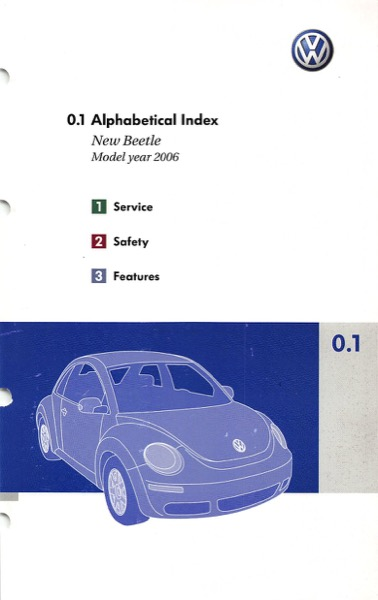 2006 volkswagen beetle owners manual in pdf rh dubmanuals com 2006 vw beetle owners manual download 2006 vw beetle convertible owners manual