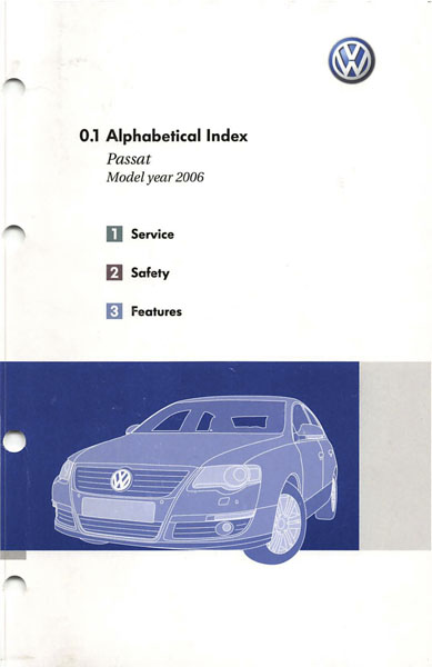 2006 Volkswagen Passat Owners Manual In Pdf