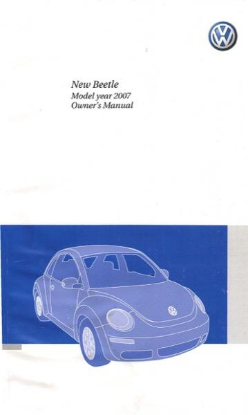 vw polo 2007 manual pdf