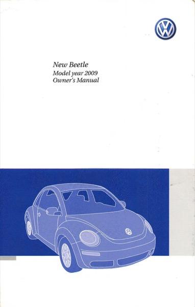 2009 volkswagen beetle owners manual in pdf rh dubmanuals com 2009 volkswagen new beetle owners manual 2009 vw beetle owners manual download