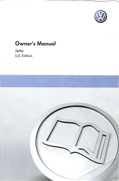 2011 Volkswagen Jetta English Owner's Manual Cover