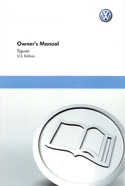 2011 Volkswagen Tiguan English Owner's Manual Cover