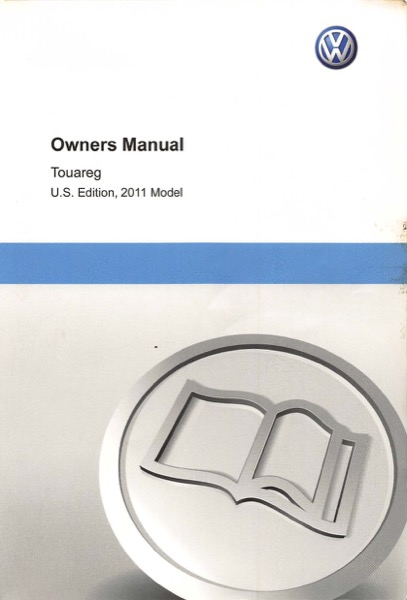 2011 volkswagen touareg owners manual in pdf rh dubmanuals com 2010 Touareg owner's manual touareg 2011
