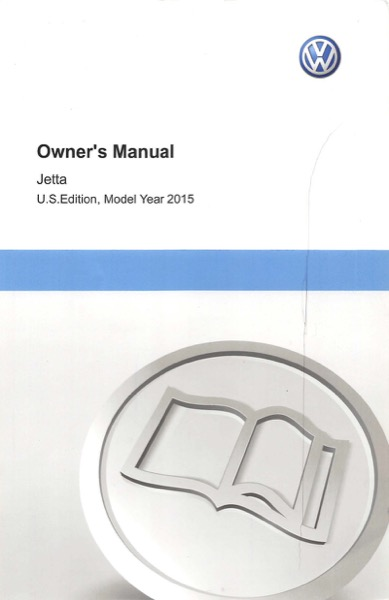 2015 Volkswagen Jetta English Owner's Manual Cover